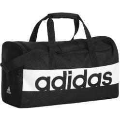 Sporttasche Fitness 27 L schwarz/weiβ