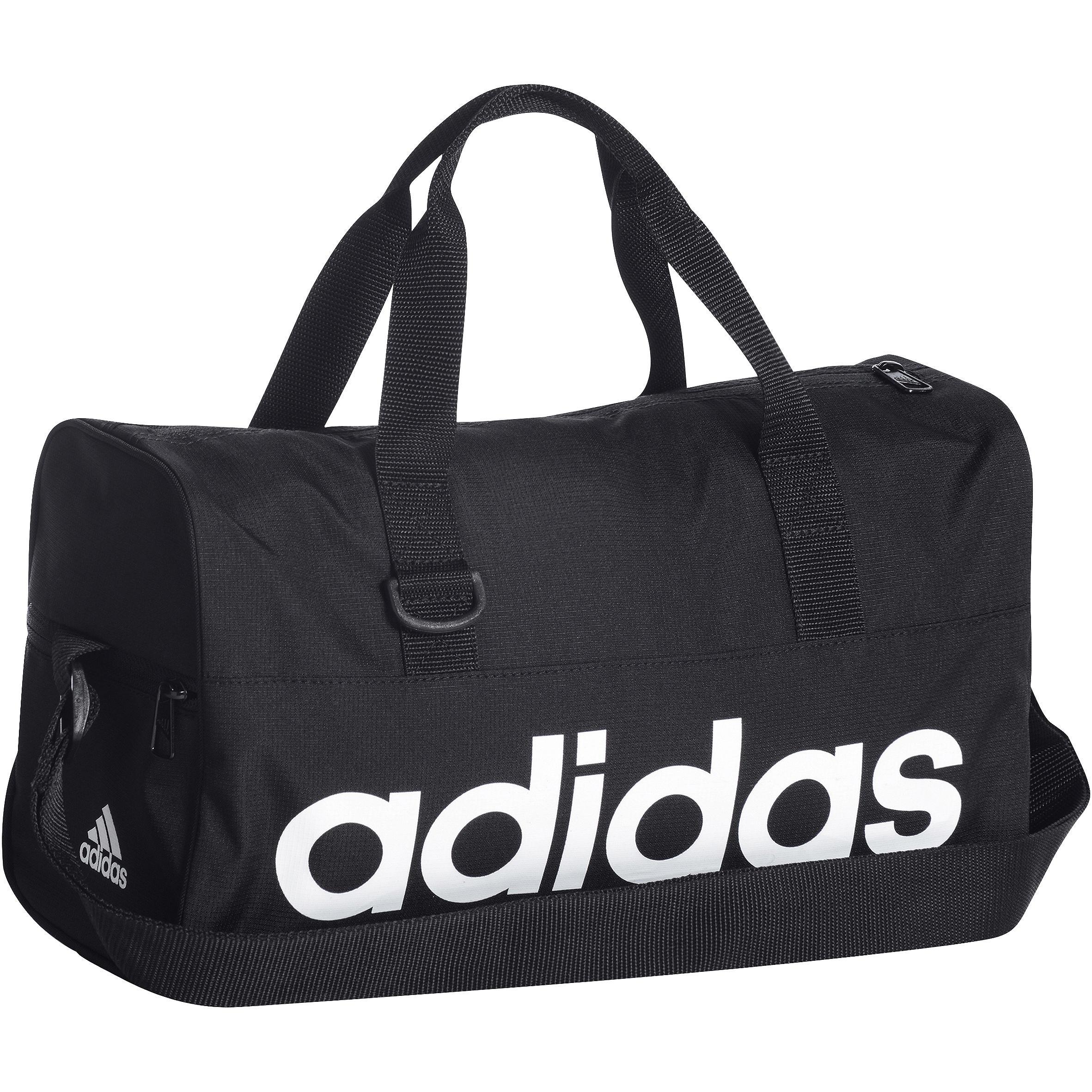 Sporttas voor kinderen zwart-wit