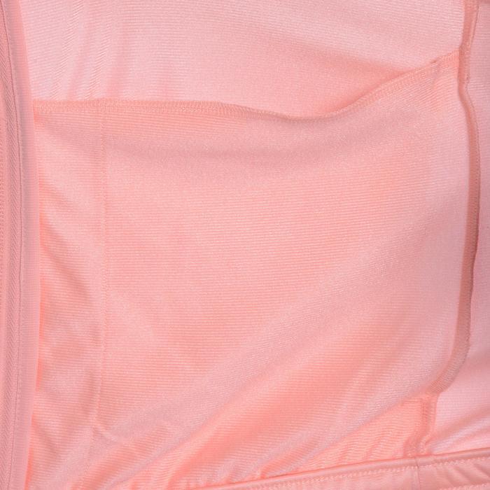 Survêtement Fitness fille rose noir - 1092120
