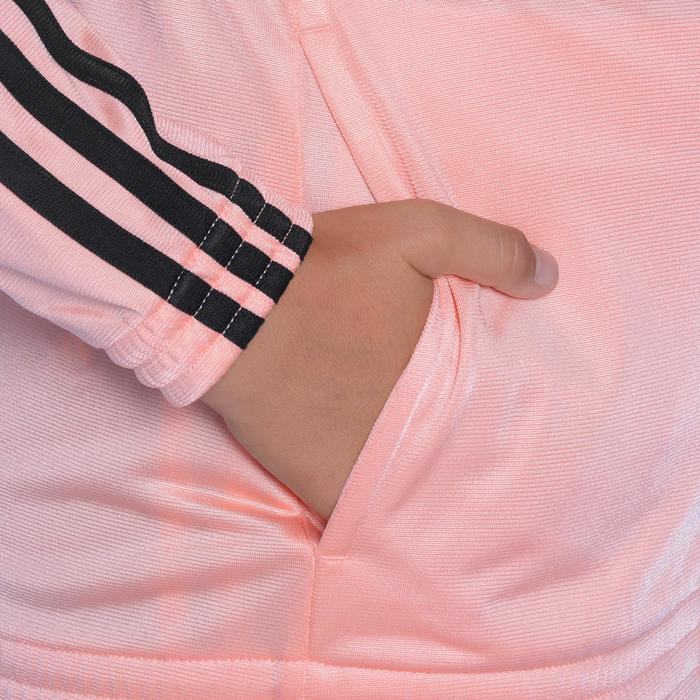 Survêtement Fitness fille rose noir - 1092123