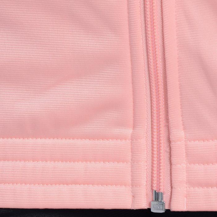 Survêtement Fitness fille rose noir - 1092124