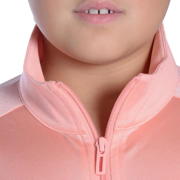 Survêtement Fitness fille rose noir - 1092125