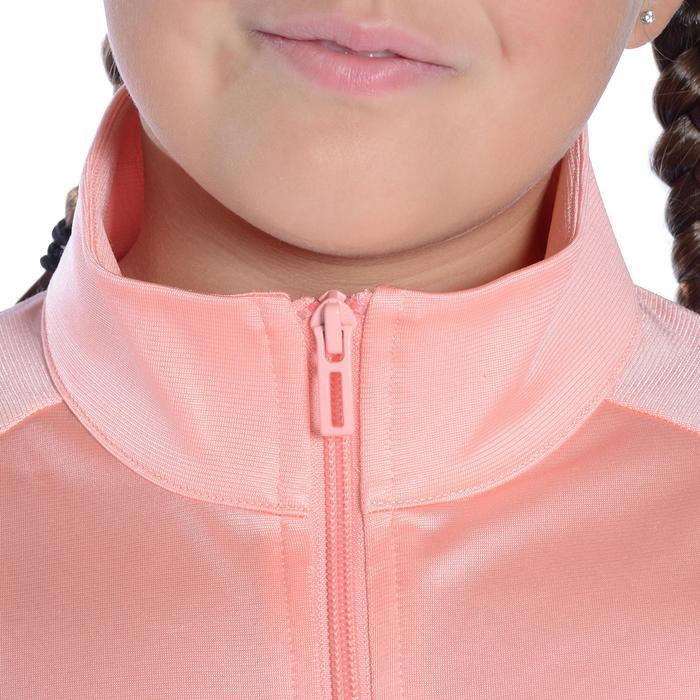 Survêtement Fitness fille rose noir - 1092126
