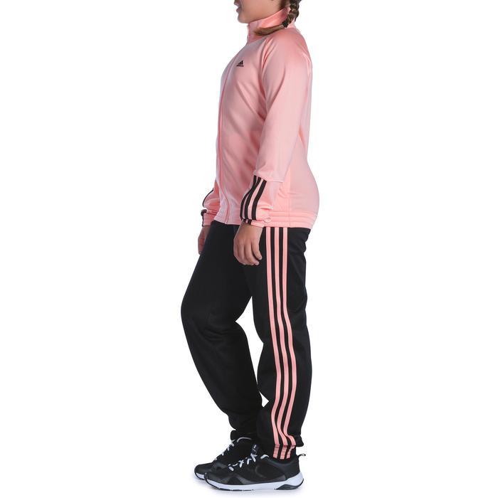Survêtement Fitness fille rose noir - 1092127