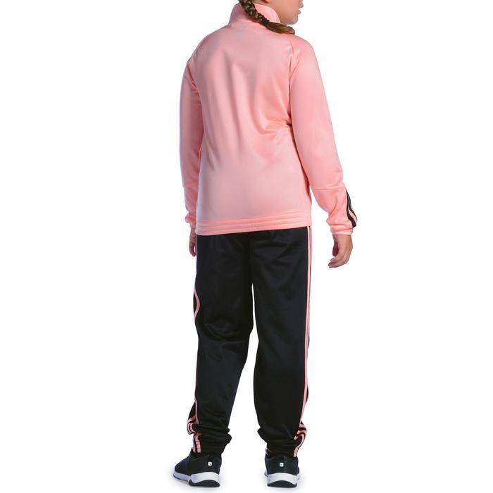 Survêtement Fitness fille rose noir - 1092128