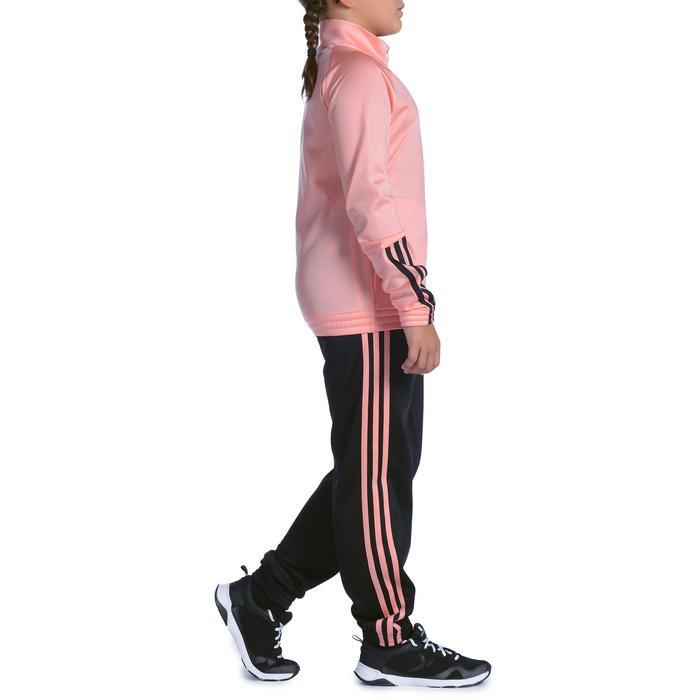 Survêtement Fitness fille rose noir - 1092129