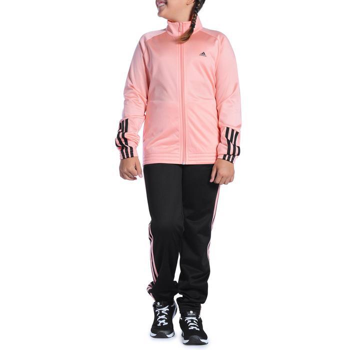 Survêtement Fitness fille rose noir - 1092130