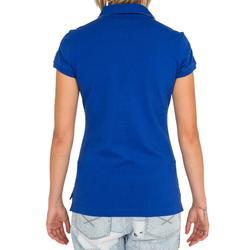 Poloshirt Segeln 100 Damen blau