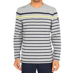 T-shirt met lange mouwen zeilen 100 heren - 1092539