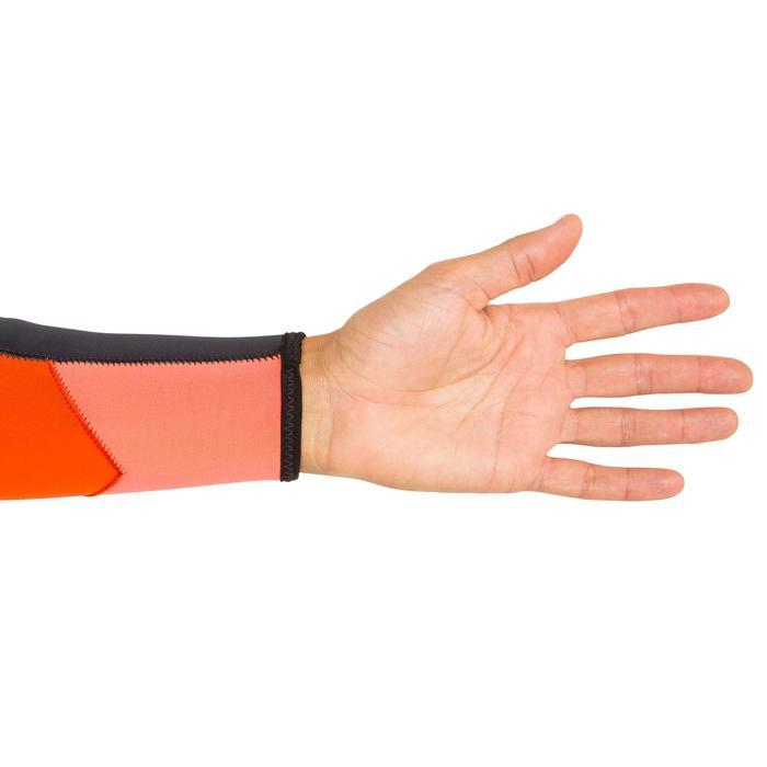 Neoprenanzug Segeln 3/2mm Jolle/Katamaran Herren schwarz/orange