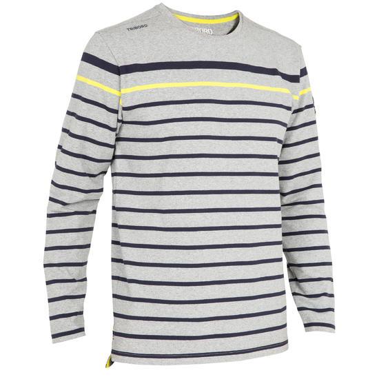 T-shirt met lange mouwen zeilen 100 heren - 1092545