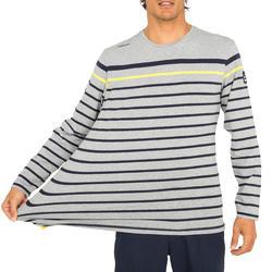 T-shirt met lange mouwen zeilen 100 heren - 1092614