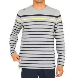 T-shirt met lange mouwen zeilen 100 heren - 1092653