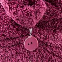 Рушник для волосся з мікрофібри - Бордовий