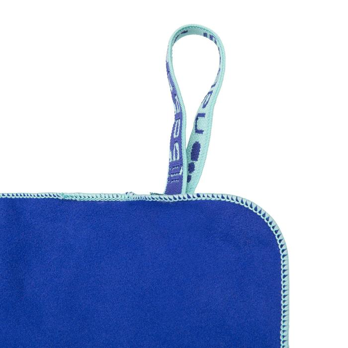 Serviette microfibre bleu cina ultra compacte taille L 80 x 130 cm - 1092756