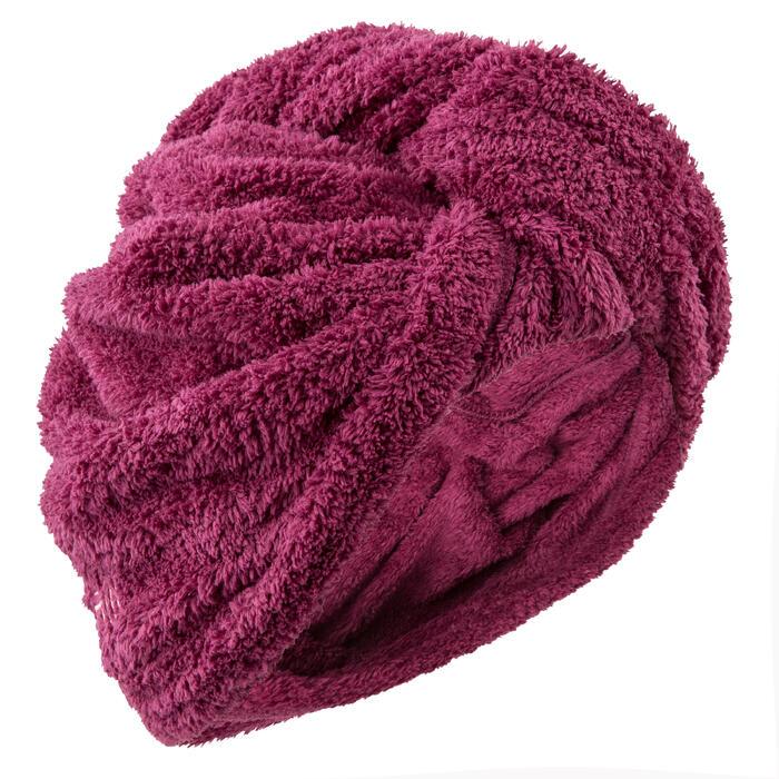 Serviette cheveux en microfibre douce - 1092760