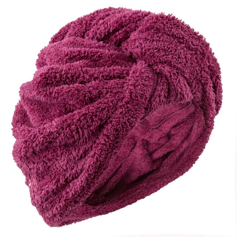 TELI NUOTO Sport in piscina - Asciugamano per capelli bordeaux NABAIJI - Accessori e Materiale Nuoto
