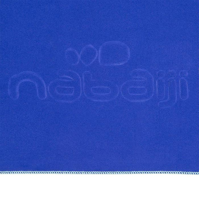 Serviette microfibre bleu cina ultra compacte taille L 80 x 130 cm - 1092763