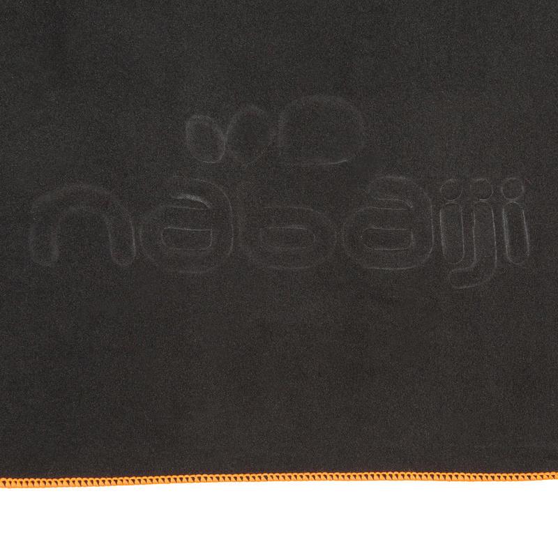 ผ้าขนหนูไมโครไฟเบอร์ขนาด M (สีเทา)