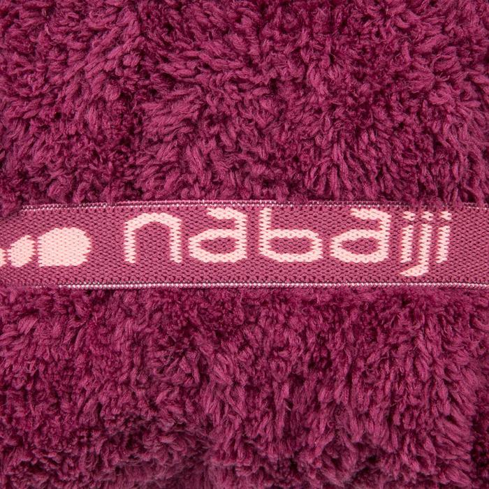 Toalla Baño Piscina Natación Nabaiji Burdeos Microfibra Suave Para el Cabello