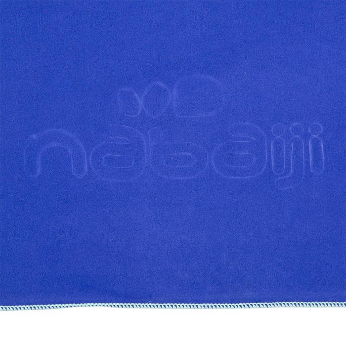 Toalla de microfibra azul oscuro ultracompacta talla XL 110 x 175 cm