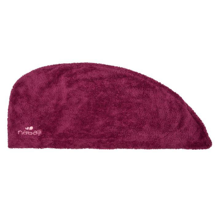 Soft Microfibre Hair Towel - Dark Purple