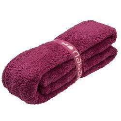 柔軟微纖維毛巾L號80 x 130 cm 紫色