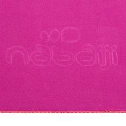 Toalla Baño Piscina Natación Nabaiji Microfibra Compacta Talla L Violeta