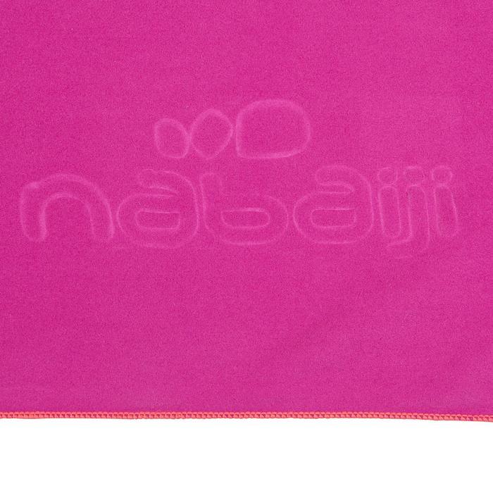 Toalla Baño Piscina Natación Nabaiji Violeta Microfibra Talla XL