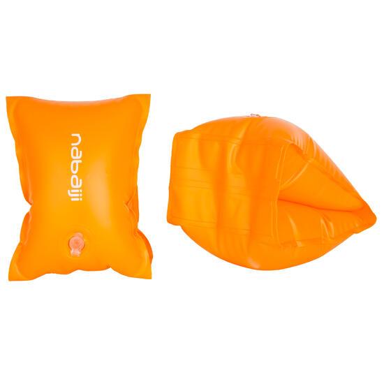 Oranje zwembandjes met twee luchtkamers voor kinderen van 11-30 kg - 1092875