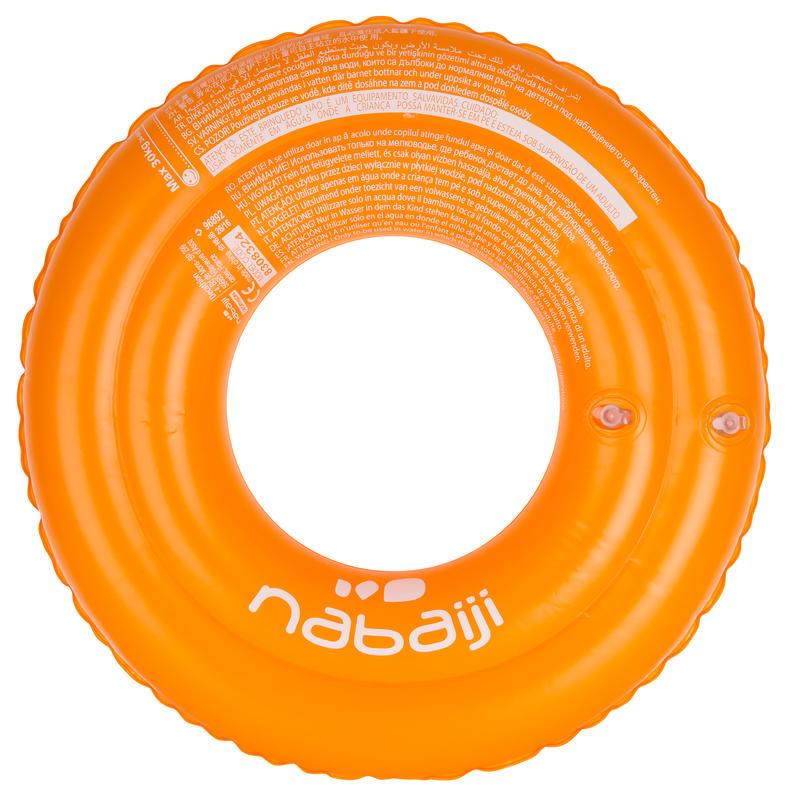Phao bơi tròn 51cm cho trẻ em - Cam 51 cm