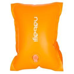 Manguitos Natación Nabaiji Naranja Fluorescente 11 a 30kg