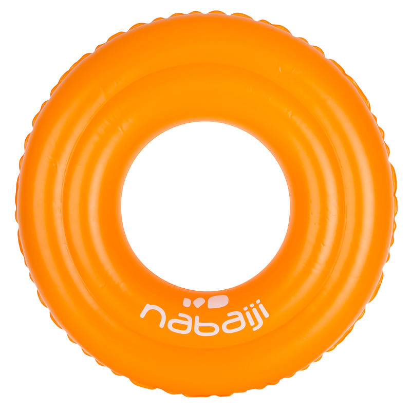 Inflatable 51 cm diameter pool ring - orange