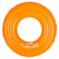 51 cm兒童3至6歲充氣式泳圈橘色