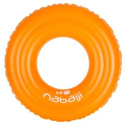 Inflatable Swim Ring 51 cm for children of 3-6 years - Orange