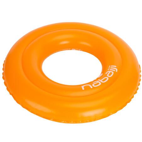 Inflatable 51 cm diameter pool ring - orange