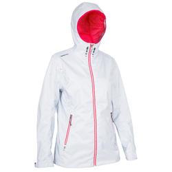 Zeiljas 100 voor dames, blauw/wit/roze