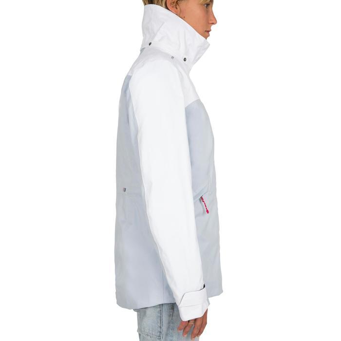 Zeiljas voor dames 100 wit/grijs