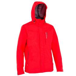 Segel-Jacke 100 Herren rot