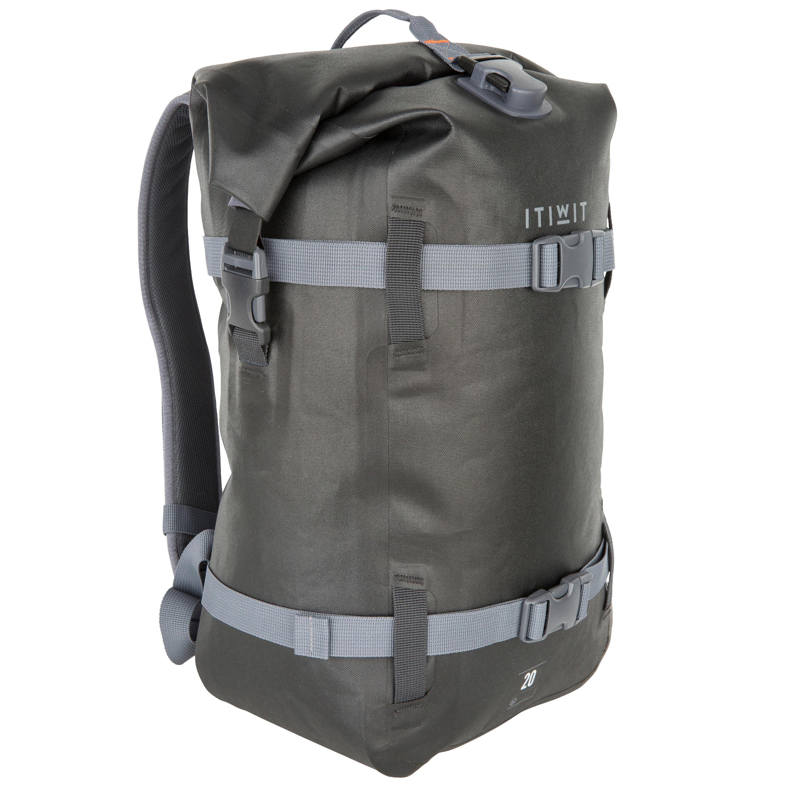 20L Watertight Backpack Black