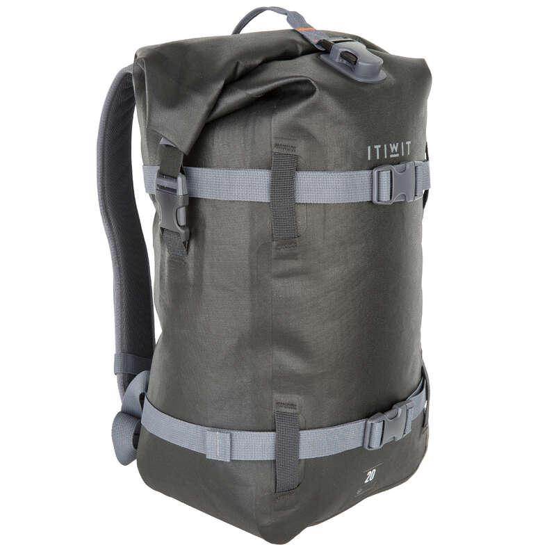 Wasserdichte Taschen Kajak - Wasserfester Rucksack 20L ITIWIT - Kajak