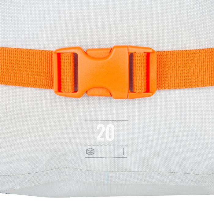 Wasserfester Rucksack 20L grau