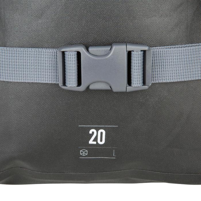 Wasserfester Rucksack 20l schwarz