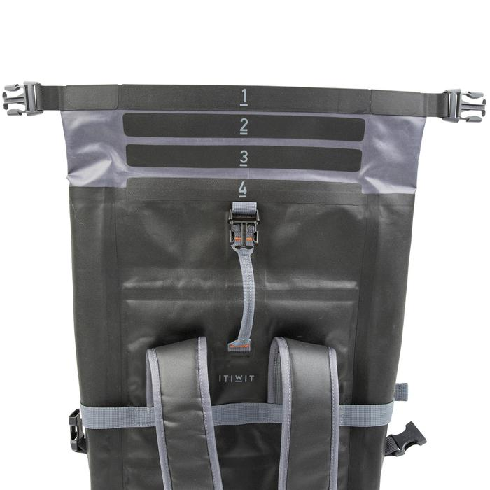 20L Watertight Backpack Black