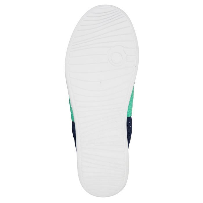 Zapatillas niños AREETA Azul oscuro Verde