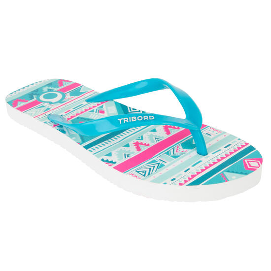 Slippers TO 100S Print Geo bl - 1093294