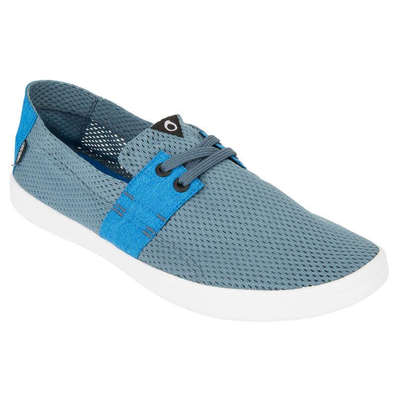 Infradito e scarpette uomo Sport Acquatici - Scarpa da spiaggia AREETA uomo blu/grigia OLAIAN - Infradito, accessori mare