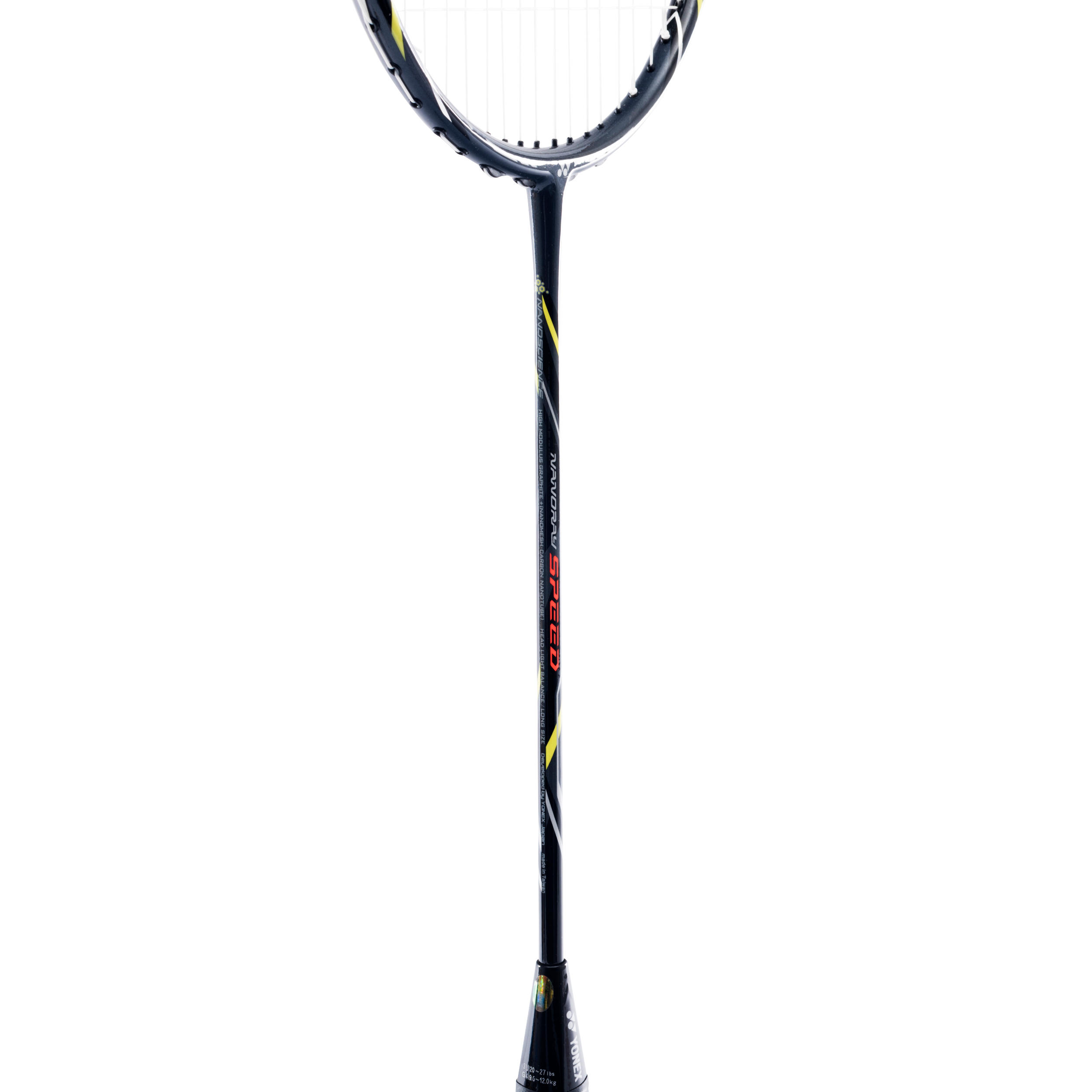 Yonex Nanoray Speed Badmintonracket Geel