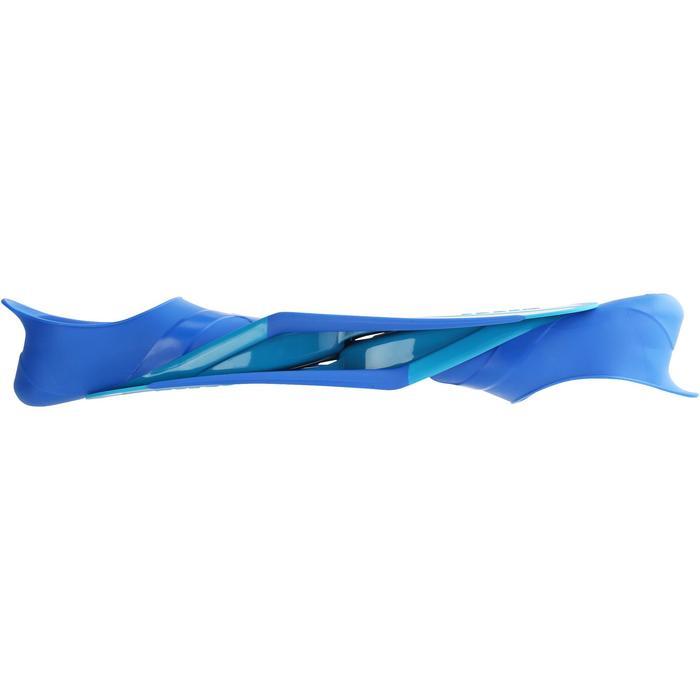 Snorkelvinnen SNK 520 voor kinderen blauw turquoise