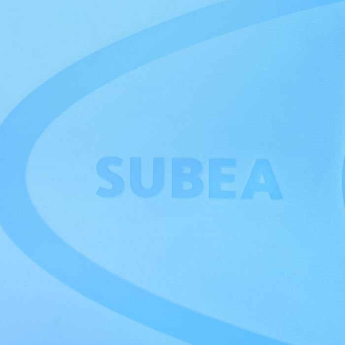 Set met snorkelvinnen en -masker SNK 500 kinderen blauw